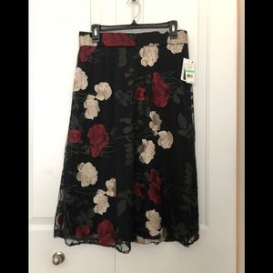 Beautiful New Lace Flower Skirt